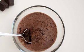 Mousse de chocolate lowcarb